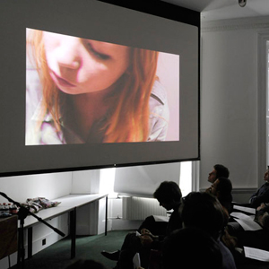 First Year Film Jury, The Ideal Architect's Room, photo Valerie Bennett