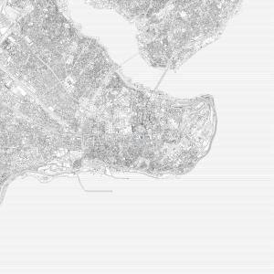 Urban plan, Istanbul
