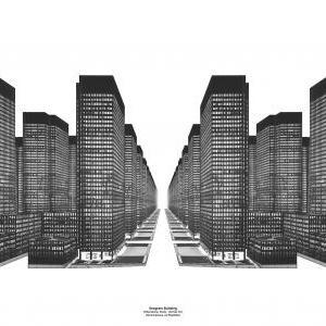 Hilberseimer Study - Vertical City