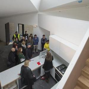 Member Trip to Ott's Yard by vPPR Architects, photo Valerie Bennett