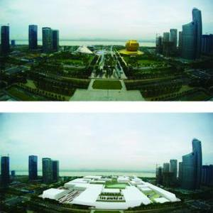 Reinterpret the City Centre as a Void: Hangzhou